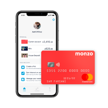 Bank Account - Open a Current Account with Monzo